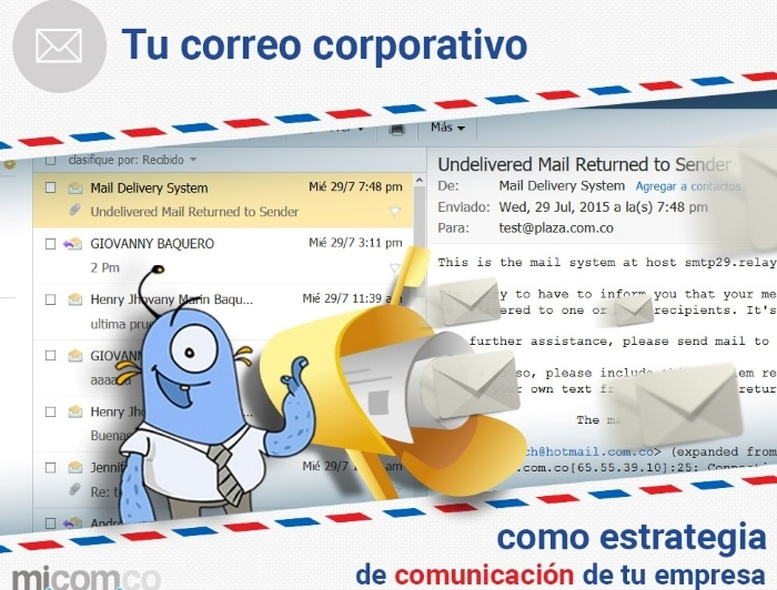 Email Corporativo,internet